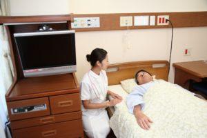 看護師と死んだ患者