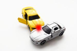 車衝突イラスト