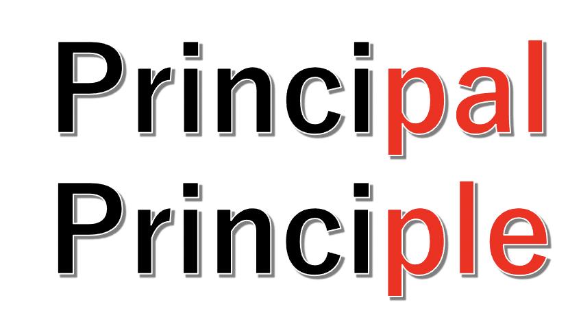 principalとprinciple